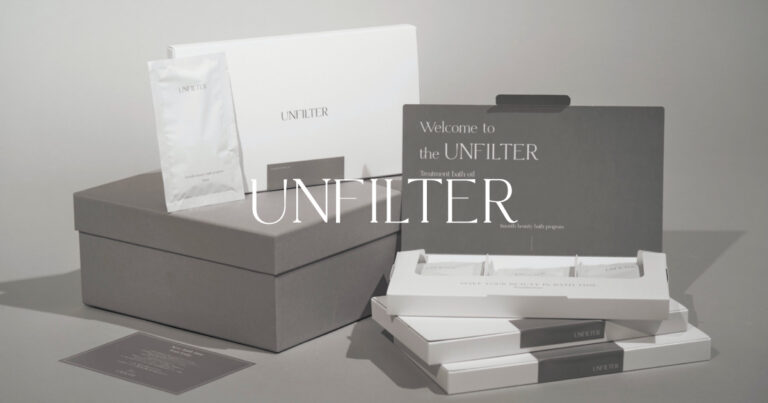 UNFILTER(アンフィルター)入浴剤