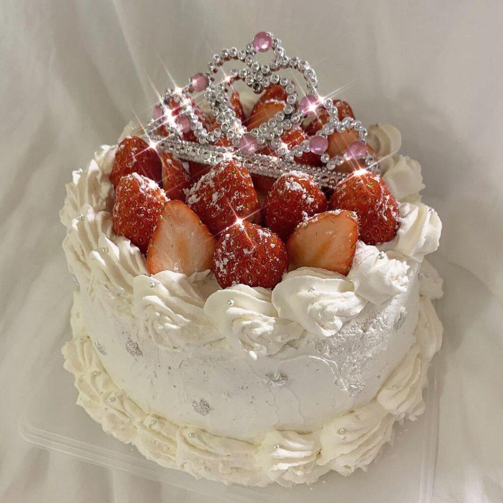 SNS映え 韓国センイルケーキ