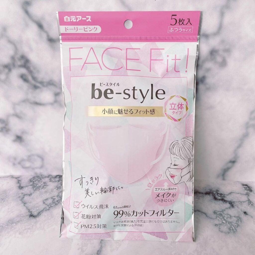be-style(ビースタイル) プリーツマスク