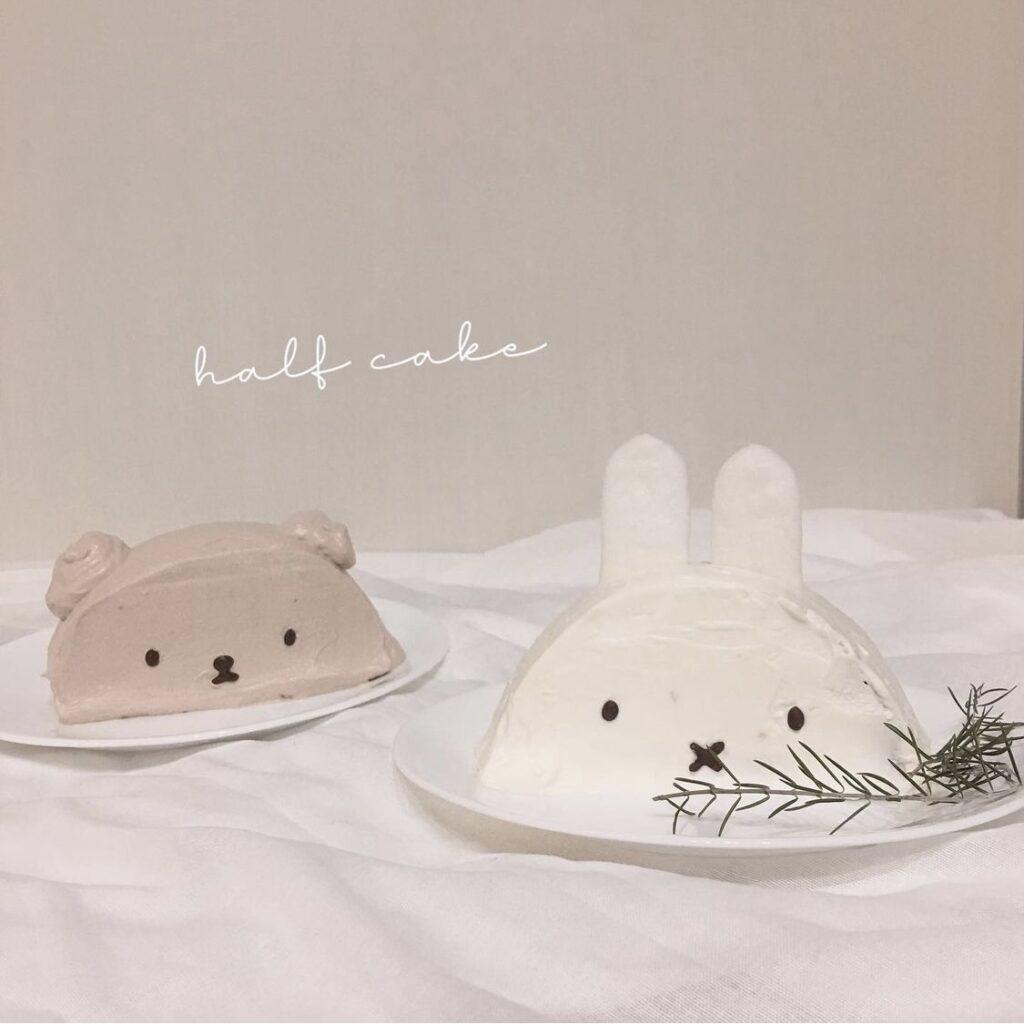 韓国ハーフケーキ
