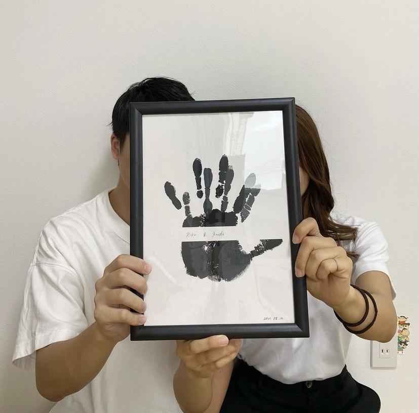 手形アート手形アート フォトフレーム